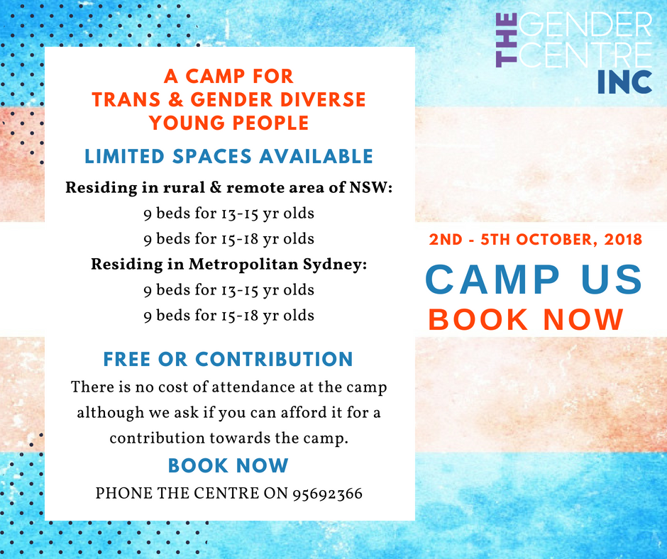 Camp Us - Youth Camp for Trans and Gender Diverse Youth