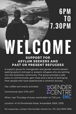 TRANSGENDER ASYLUM SEEKERS & REFUGEES