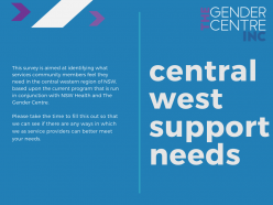 Central West Support