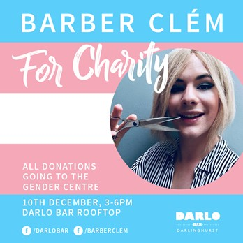 Barber Clém for Charity