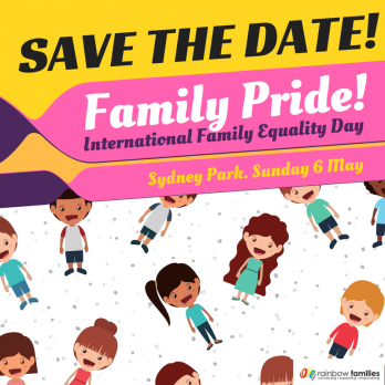 Family Pride! International Family Equality Day