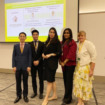 Staff News: Senior Case Manager Impresses at the 22nd International HIV Symposium in Bangkok.