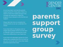 Parents Group Survey