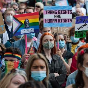 The way trans people's rights are discussed is causing them fear and pain