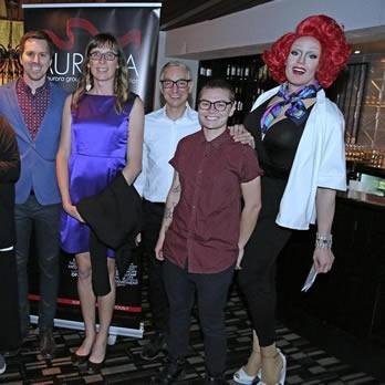 AURORA DINNER RAISES $5,000