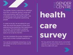 Health Care Survey