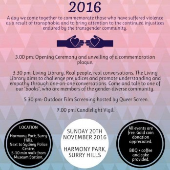Day of Remembrance 2016